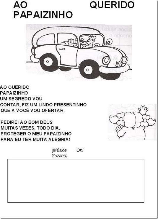 Ministerio Infantil Aclame Poemas E Desenhos Para O Dia Dos Pais