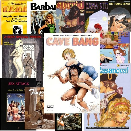 Adult Comics Collection 62 books | PDF | 1.08 Gb | English. For Adults Only! ...