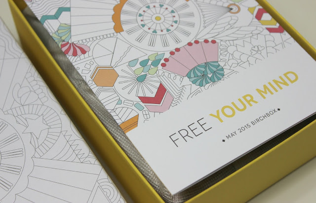 A picture of Free Your Mind May 2015 Birchbox UK