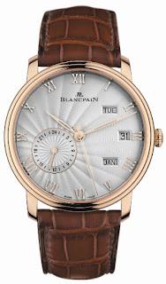 Montre Blancpain Villeret Quantième Annuel GMT référence 6670-3642-55B
