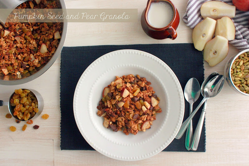 pear granola recipe