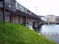 Puente sobre la ría - Bridge over River Navia