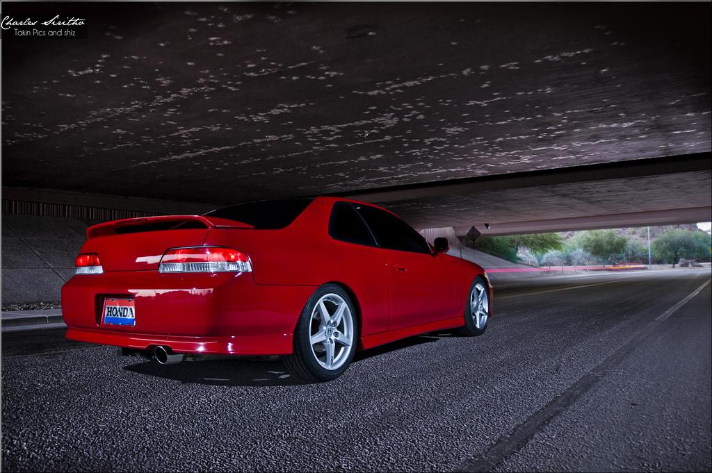 czerwona, typowa, Honda Prelude, BB, piąta generacja, ciekawe samochody coupe, fajne auta z lat 90, zdjęcia