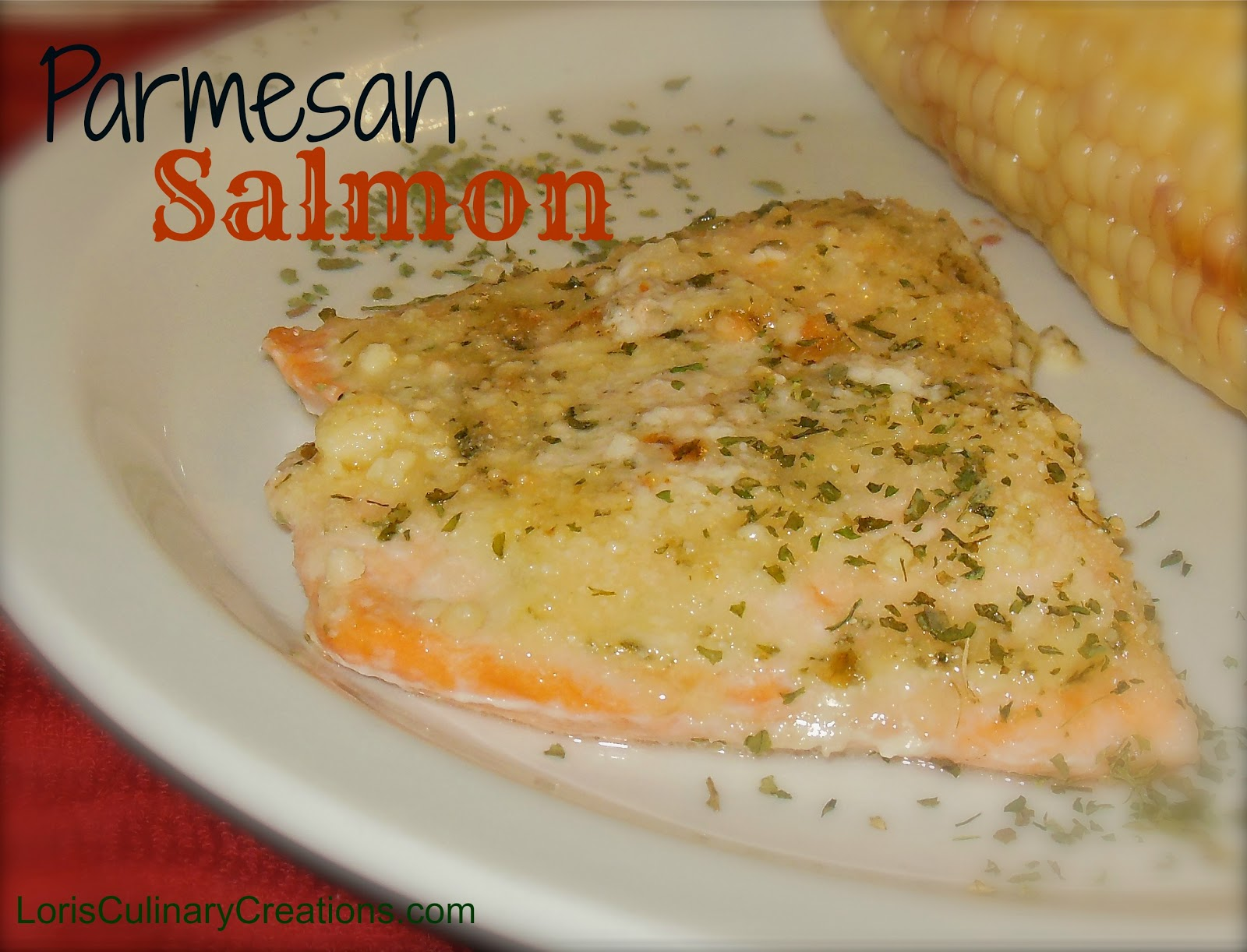 The best parmesan crusted salmon ever for Parmesan crusted fish