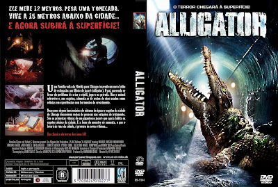 Alligator O Jacare Gigante DVD Capa