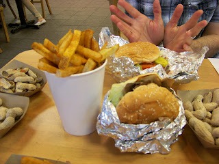 American cuisine, burgers and fries
