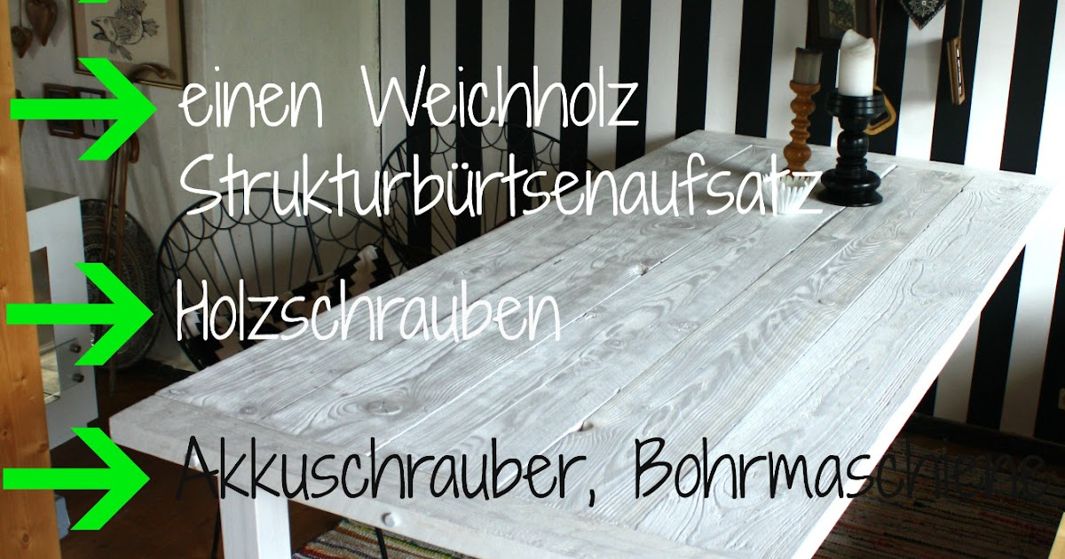 frau rathmann m ein tisch diy anleitung. Black Bedroom Furniture Sets. Home Design Ideas