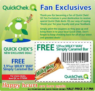 Free Free Milky Way Simply Caramel Bar at Quick Chek