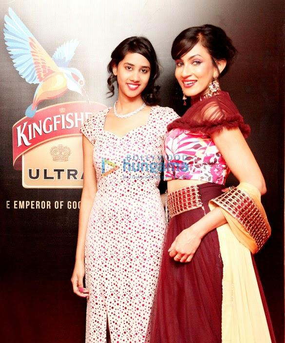 Chandi Perera walks the ramp at Kingfisher Hyderabad Fashion Week