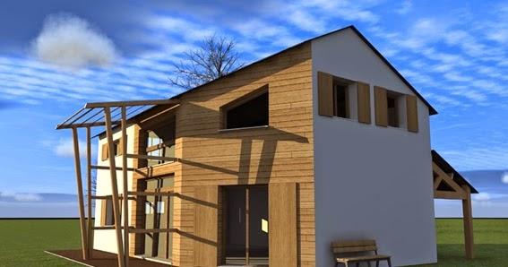 b ti concept cologique vers la construction de maison autonome. Black Bedroom Furniture Sets. Home Design Ideas