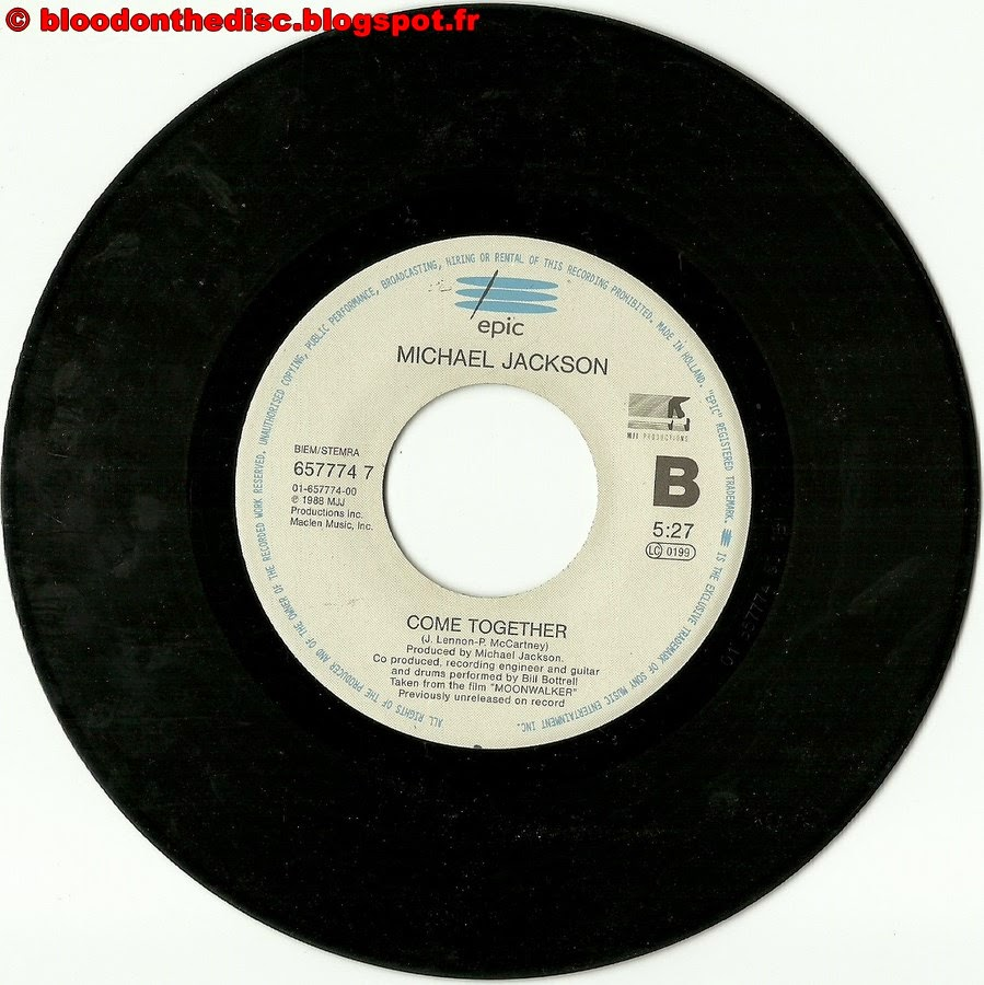 Remember The Time 45T B Side