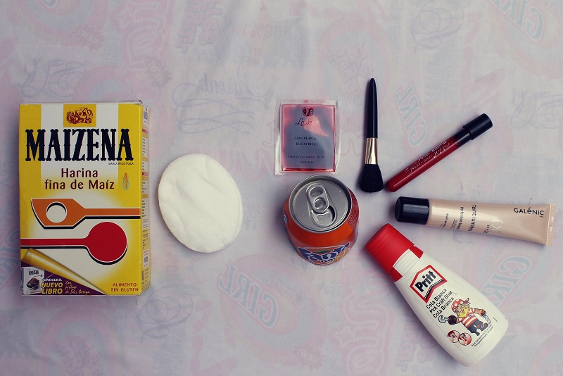 como hacer latex para maquillaje