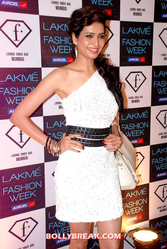 Karishma Tanna - Lakme Fashion Week 2012 Launch party Pics