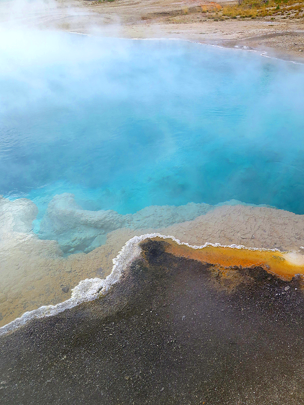 Hot Springs Geyser Basin, Yellowstone