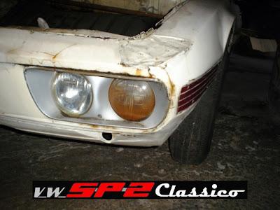 Volkswagen SP2 Abandonado