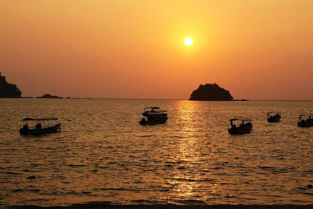 kenangan, ingatan, laut, pulau pangkor,bot laju