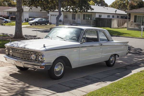 Full Restoration 1962 Mercury Comet S 22 Auto