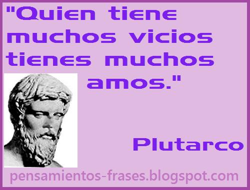 frases de Plutarco