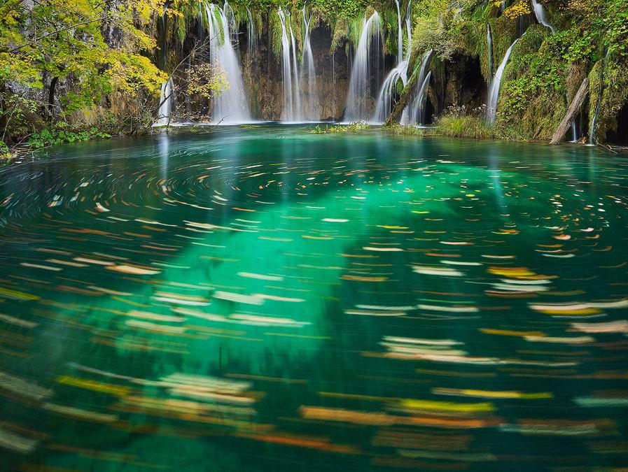Banco de Imágenes Gratis .COM: Cascadas del río azul - Blue river ...
