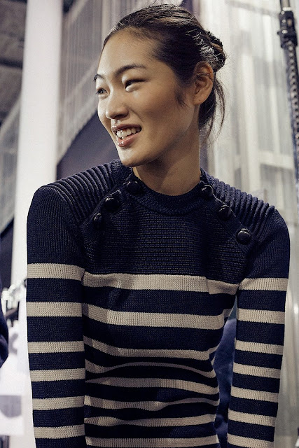 Isabel Marant Fall 2015 Backstage