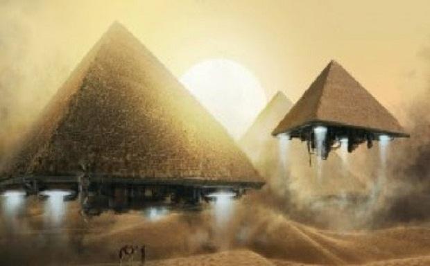 Βρέθηκε Αρχαίος Τεχνολογικός Εξοπλισμός και UFO στις Πυραμίδες;;