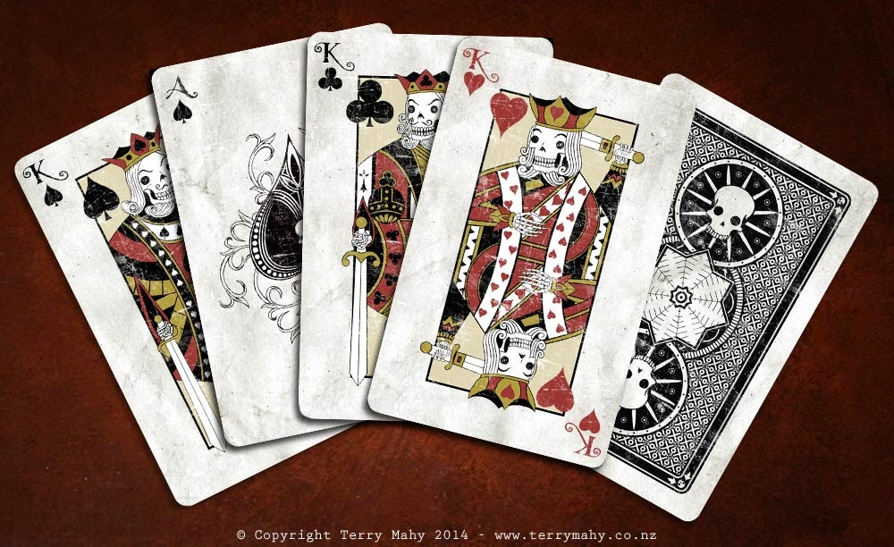 Terry Mahy Playing Cards