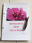 Rensa Ditt hem p 30 dagar
