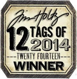 Tim Holtz April 12 Tags of 2014