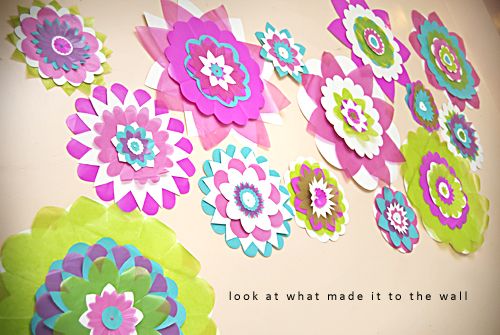 Forty weeks craftsdiy layered paper flowers craftsdiy layered paper flowers mightylinksfo