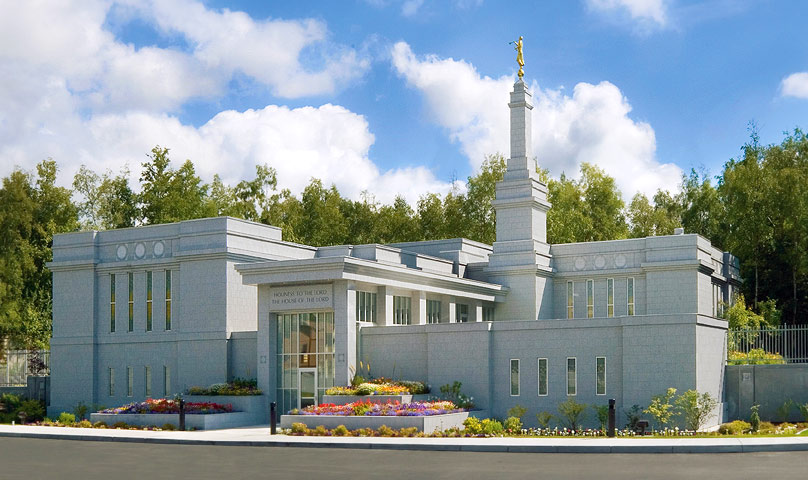 Alaska Anchorage Temple