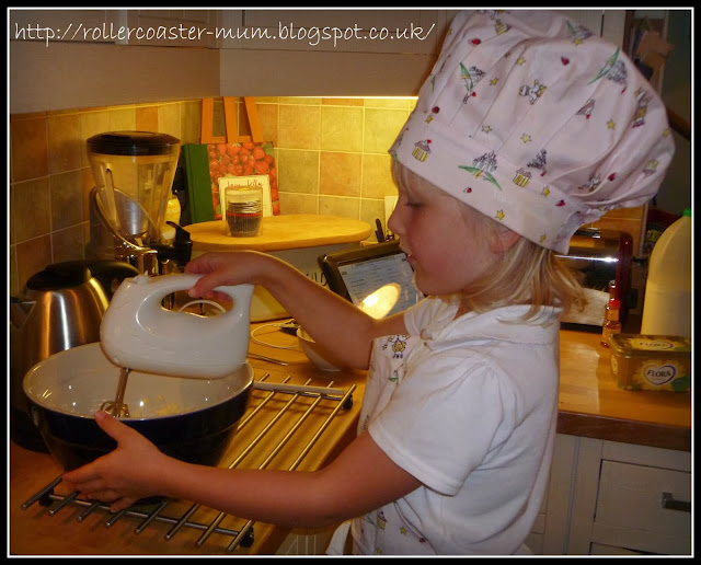 baking fairy cakes for kids
