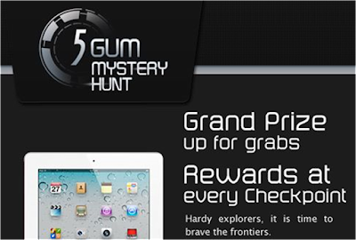 Wrigley's 5 Gum 'Mystery Hunt' Contest