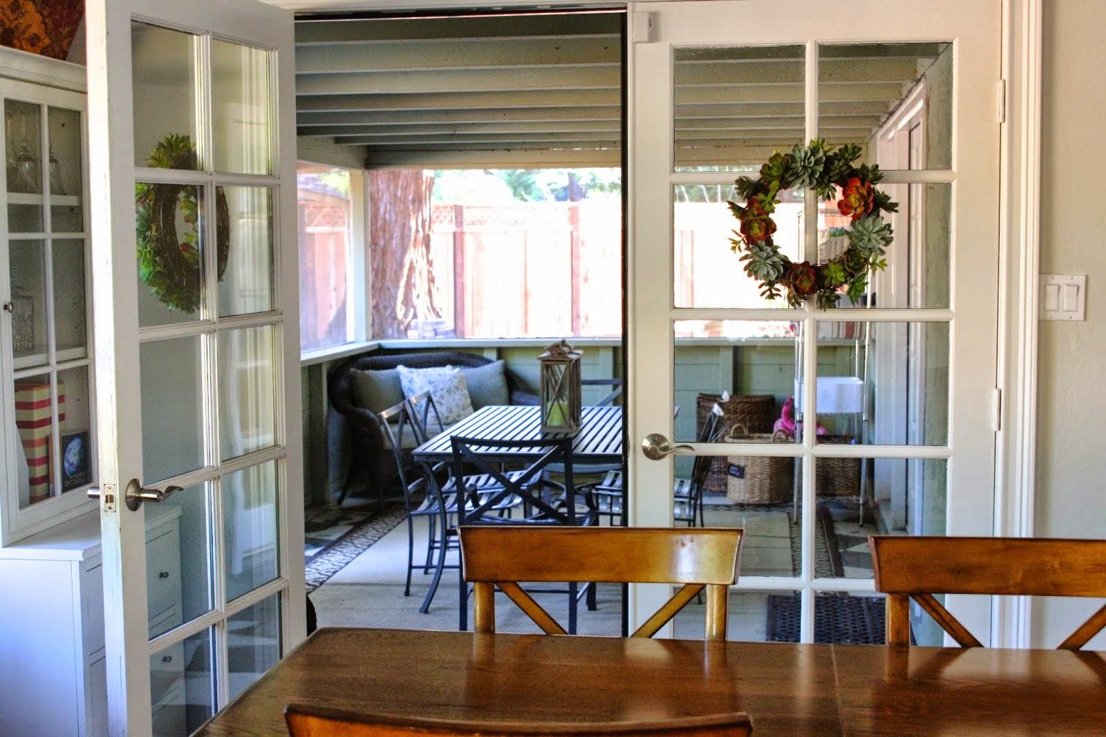 Nice patio screen door