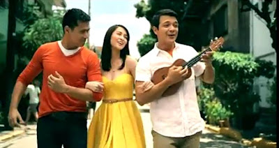 Robin Padilla, Marian Rivera and Jericho Rosales TNT TVC