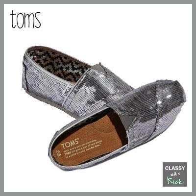 Toms Sequin Flats
