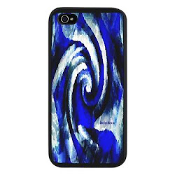 Mod Blue Swirl