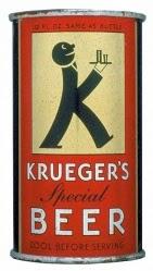 Embalagem da primeira lata de cerveja comercializada. Estados Unidos, 1935.