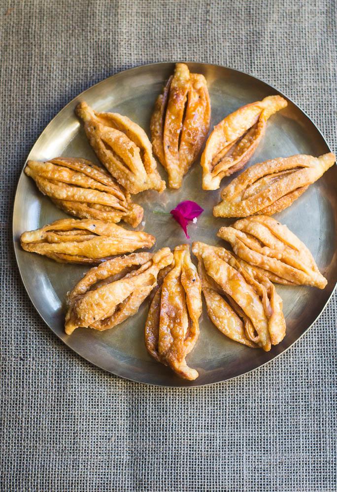 how to get pastry very crispy deep frying