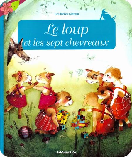 """""""Le loup et les sept chevreaux"""" Texte adapté par Anne Royer"""