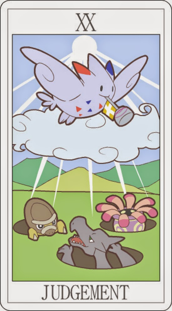Pokemon Tarot - Judgement