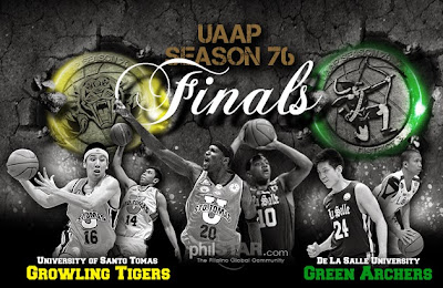 UST vs DLSU Game 3 UAAP 76 Finals Live Stream