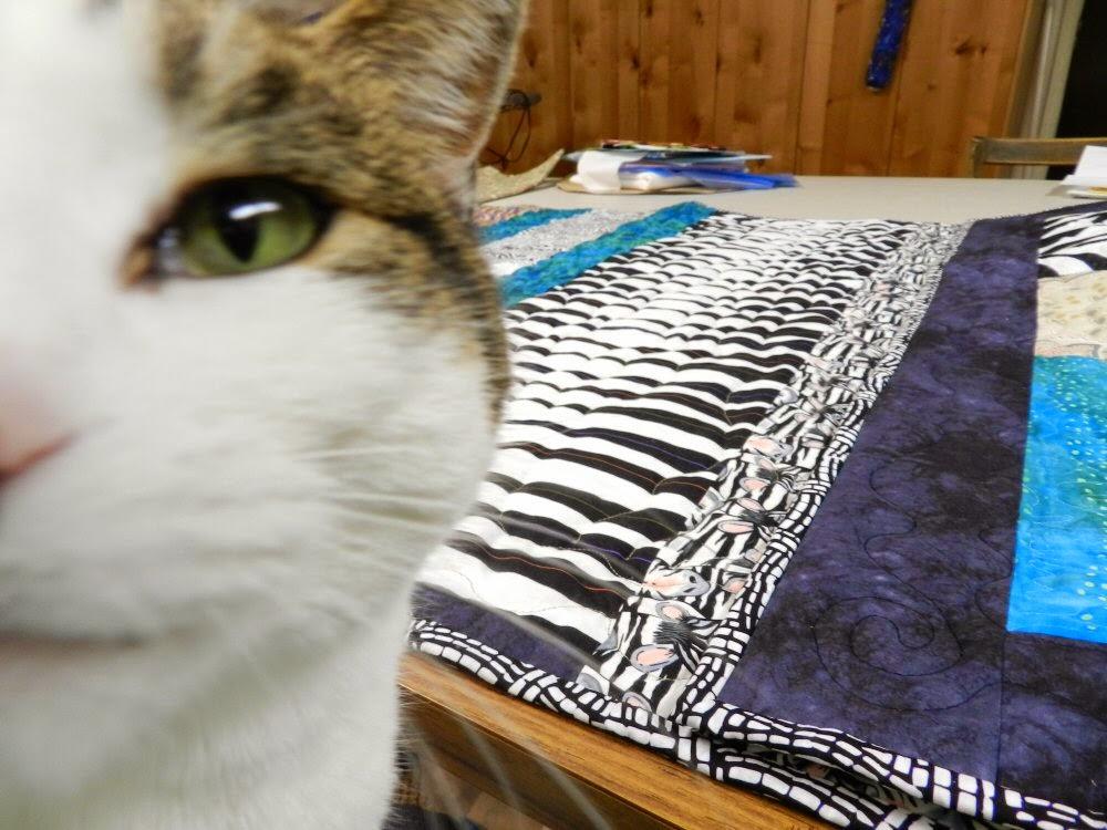 Eye spy a quilt!