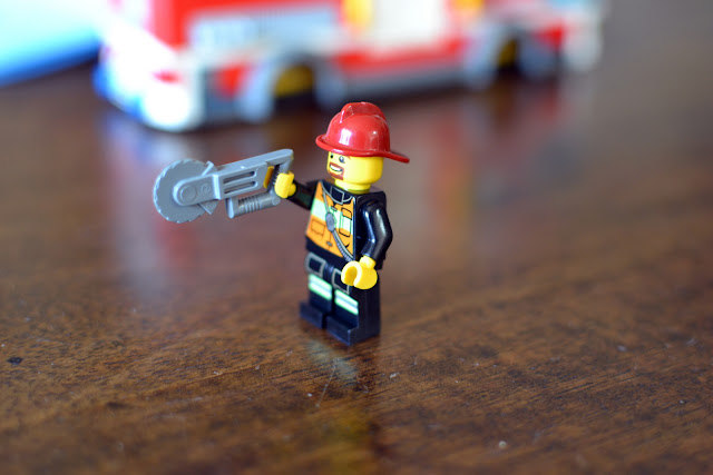 LEGO City Fire Truck firefighter