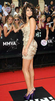 Selena Gomez in Mini Frock