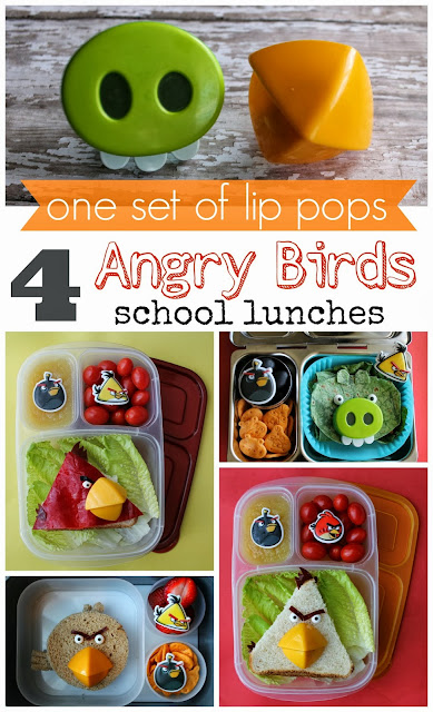 Angry Bird Lunches - www.mamabelly.com