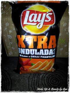 Patatas fritas Lay´s Xtra Onduladas Degustabox Abril 2015