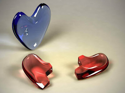 Tag Crystal Red Hearts Wallpapers Images Photos Pictures And Backgrounds For Free
