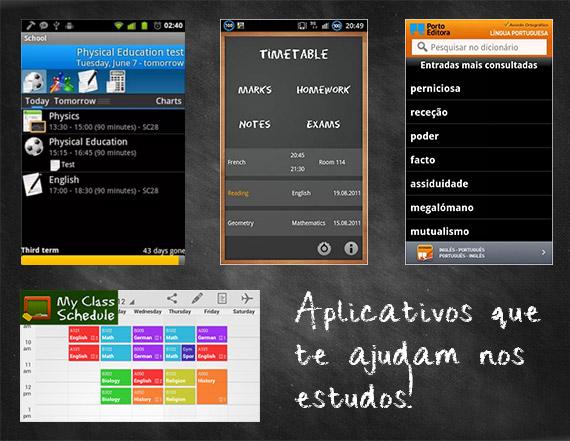 Aula - Escola - Material escolar - App