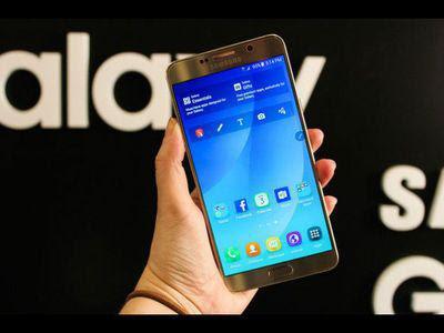 Samsung Galaxy Note 5 é praticamente um smartphone com tela maior