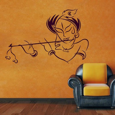 Buy DeStudio Krishna Two Size Tiny Wall Sticker at FLAT 81% OFF Rs.149 only at Flipkart.